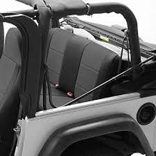 coverking custom fit seat cover for jeep wrangler jk 4 door neoprene