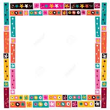 frame border. Fine Border Flowers Collage Decorative Frame Border Stock Vector  32124128 To Frame Border 123RFcom