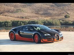Bugatti Veyron Super Sport - Orange & Black   HD Wallpaper #63