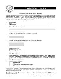 Fillable Online Lasvegasnevada Zoning Verification Letter Form Docx