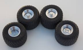 front pulling tires rims inserts