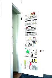 closet door jewelry organizer behind the e rack wire pantry bathrooms hull direct yorkshir