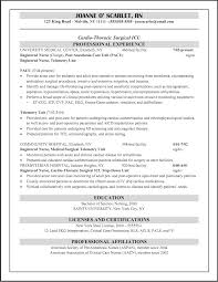 6e medical surgical telemetry unit in objectives in resume for nurses