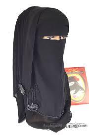 Saudi Arabia Burka Design Niqab Hijab Burqa Islamic Face Veil Scarf Muslim Burka Model 4