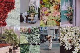 new york s flower district on west 28th street in manhattan