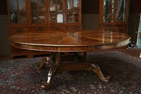 expandable round pedestal dining table. square or round expandable dining table? : large double pedestal table o