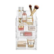 Luxe Acrylic Small Makeup Storage Starter Kit ...