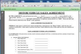 Motor Vehicle Sale Agreement Geoffreyg I Will Give You A Motor Vehicle Sales Contract Template For 5 On Www Fiverr Com