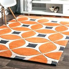 burnt orange and brown area rugs throw