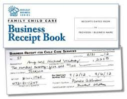 Child Care Receipt Should You Give Parents A Receipt Everytime They Pay Tom