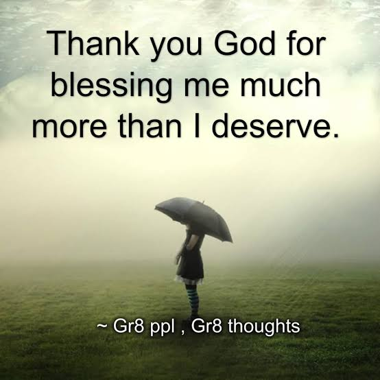 god blessing me quotes