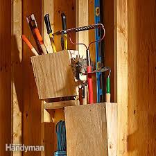 this may take the record for the world s simplest yard tool storage project
