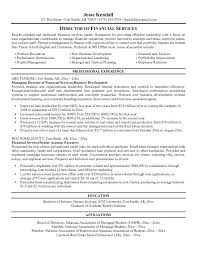 financial resume template resume builder executive director resume sample