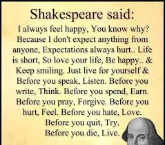 Quote On Life By Shakespeare