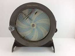 Honeywell Chart Recorder Details About Honeywell Vintage Temperature Chart Recorder Model R612x21 Kl Ii Iii 86 Parts