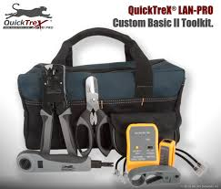 how to make a category 5 cat 5e patch cable quicktrex custom basic ii toolkit