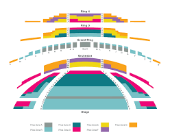 Four Seasons Centre Performing Arts Toronto Seating Chart Seating Chart The National Ballet Of Canada