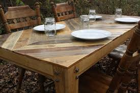 outdoor pallet wood. Custom Made Gathering Table (Chevron Style) Pallet Wood Outdoor