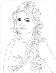 selena gomez coloring pages coloring page coloring page celebrity h m and coloring pages taylor swift and selena gomez