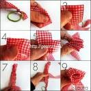 Сделать тесьму из ткани