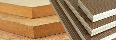 vs plywood particle board countertop cutting comparing building materials