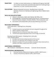 Objectives For Entry Level Resumes Basic Entry Level Resume