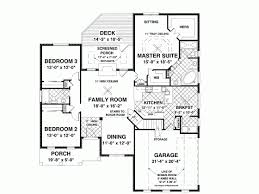 Country House Plan   Square Feet and Bedrooms from Dream    Level