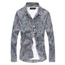 Men's Patterned Dress Shirts Interesting Fashion Mens Luxury Stylish Floral Slim Fit Long Sleeve Dress Shirt