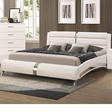 california king bed set. California King Beds Amazon.com: Coaster 300345kw White Size Bed With Metallic Set K