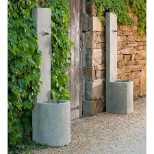 outdoor wall fountain echo outdoor wall fountain soothing walls slate water wall outdoor fountain with led