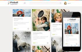 Style Templates Pinball Responsive Grid Style Blog Flat Web Template By