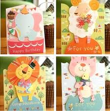 Online Birthday Cards For Kids Inspirational Kids Birthday Card Or Mix Designs Cute Animals Kids