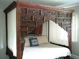 Antique Four Poster Canopy Bed For Sale A Very Fine Empire C ...