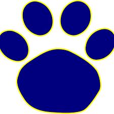 Online Clipart Jaguar Paw Print Clip Art Free Clipart Download