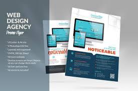 Web Flyer Web Design Agency Flyer Flyer Templates Creative Market 1