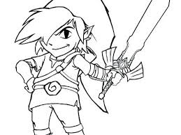toon link coloring pages. Exellent Coloring Toon Link Printable Coloring Pages Instant Knowledge On