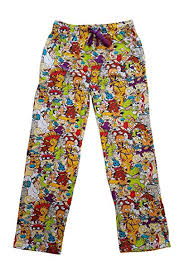 Character Pants Nickelodeon Character Graphic Mens Sleep Lounge Pants
