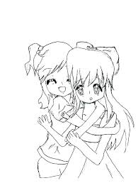 Best Friend Coloring Pages For Girls Friends Coloring Pages Friends