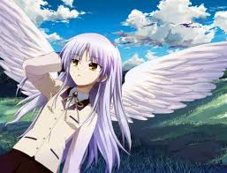 anime characters with wings. Plain Wings Ooh I Knowhow About Tachibanachan From Angel Beatsshe In Anime Characters With Wings R