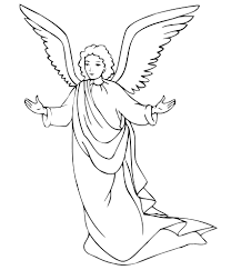 Small Picture angel coloring page angel crafts Pinterest Angel Sunday