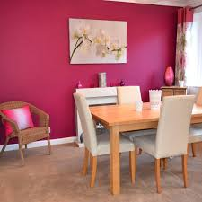 Dining Room Feature Wall Colour Crush Hot Pink Girl In A Hard Hat