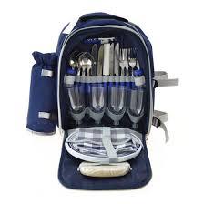 <b>Набор посуды для пикника</b> в чемодане купить в интернет ...