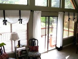 sliding glass door curtain ideas curtains designs horizontal blinds for doors with kitchen do