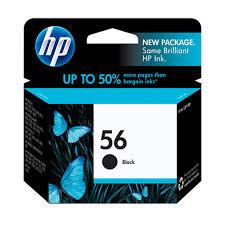 <b>HP 56</b> Black Original Ink Cartridge (C6656AN) - Walmart.com