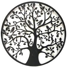 tree of life metal wall art celtic inspired outdoor hanging