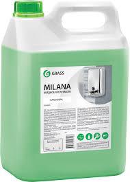 <b>Жидкое</b> мыло <b>Grass</b> Milana <b>крем</b>-<b>мыло</b>, алое вера, 5 л купить в ...