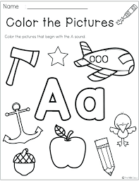Beginning sounds worksheets for preschool and kindergarten; Beginning Sounds Worksheets Kindergarten Worksheet Sumnermuseumdc Org