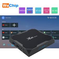 X96MAX Smart Tivi Box Android 9.0 Amlogic S905X2 LPDDR3 Quad Core 4GB 64GB  2.4G & 5 Ghz wifi BT 4.0 1000M 4 Full HD 4GB 32FG X96 Max Hộp