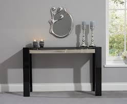 perfect black hall console table with black hall table high gloss console to decor