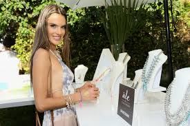 alessandra ambrosio launches ale by alessandra for baublebar jewelry collection in palm springs